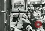 Image of Legion of French Volunteer LVF soldiers collaborating with Germany Versailles France, 1941, second 29 stock footage video 65675022362