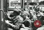 Image of Legion of French Volunteer LVF soldiers collaborating with Germany Versailles France, 1941, second 30 stock footage video 65675022362