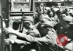 Image of Legion of French Volunteer LVF soldiers collaborating with Germany Versailles France, 1941, second 31 stock footage video 65675022362