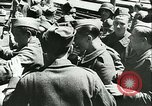 Image of Legion of French Volunteer LVF soldiers collaborating with Germany Versailles France, 1941, second 33 stock footage video 65675022362