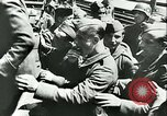 Image of Legion of French Volunteer LVF soldiers collaborating with Germany Versailles France, 1941, second 34 stock footage video 65675022362
