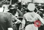 Image of Legion of French Volunteer LVF soldiers collaborating with Germany Versailles France, 1941, second 37 stock footage video 65675022362