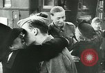 Image of Legion of French Volunteer LVF soldiers collaborating with Germany Versailles France, 1941, second 38 stock footage video 65675022362