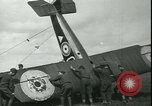 Image of American Sopwith F-1 Camel Aircraft France, 1918, second 48 stock footage video 65675022371