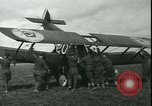 Image of American Sopwith F-1 Camel Aircraft France, 1918, second 60 stock footage video 65675022371