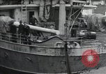 Image of Wounded US Army soldiers disembark from a steamer New York City Harbor USA, 1919, second 1 stock footage video 65675022382
