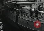 Image of Wounded US Army soldiers disembark from a steamer New York City Harbor USA, 1919, second 5 stock footage video 65675022382