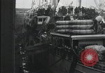 Image of Wounded US Army soldiers disembark from a steamer New York City Harbor USA, 1919, second 15 stock footage video 65675022382