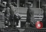 Image of Wounded US Army soldiers disembark from a steamer New York City Harbor USA, 1919, second 39 stock footage video 65675022382