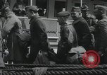 Image of Wounded US Army soldiers disembark from a steamer New York City Harbor USA, 1919, second 41 stock footage video 65675022382