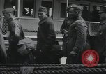Image of Wounded US Army soldiers disembark from a steamer New York City Harbor USA, 1919, second 44 stock footage video 65675022382