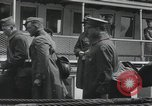 Image of Wounded US Army soldiers disembark from a steamer New York City Harbor USA, 1919, second 47 stock footage video 65675022382