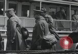 Image of Wounded US Army soldiers disembark from a steamer New York City Harbor USA, 1919, second 48 stock footage video 65675022382