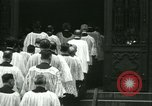 Image of Saint Patrick Cardinal Hayes New York United States USA, 1938, second 30 stock footage video 65675022386