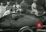 Image of Byron Connett in small submarine Michigan City Indiana USA, 1938, second 7 stock footage video 65675022389