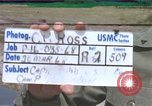 Image of Captain Charles Robb Camp Pendleton California USA, 1968, second 1 stock footage video 65675022393