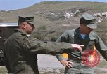 Image of Captain Charles Robb Camp Pendleton California USA, 1968, second 10 stock footage video 65675022393