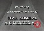 Image of Rear Admiral A S Merrill United States USA, 1943, second 3 stock footage video 65675022406