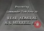 Image of Rear Admiral A S Merrill United States USA, 1943, second 4 stock footage video 65675022406