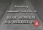 Image of Rear Admiral A S Merrill United States USA, 1943, second 8 stock footage video 65675022406