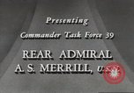 Image of Rear Admiral A S Merrill United States USA, 1943, second 9 stock footage video 65675022406