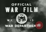 Image of bombing on Hansa Bay and Wewak Papua New Guinea, 1943, second 15 stock footage video 65675022408