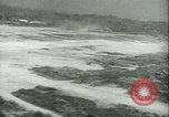 Image of bombing on Rabaul Papua New Guinea, 1943, second 51 stock footage video 65675022409