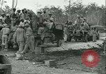 Image of U.S. 828th Engineer Aviation Battalion African American Munda New Georgia Solomon Islands, 1943, second 50 stock footage video 65675022411