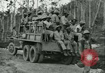 Image of U.S. 828th Engineer Aviation Battalion African American Munda New Georgia Solomon Islands, 1943, second 53 stock footage video 65675022411