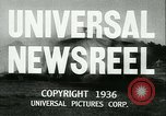 Image of Horse named Pompoon New York United States USA, 1936, second 7 stock footage video 65675022412