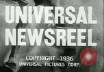 Image of Horse named Pompoon New York United States USA, 1936, second 9 stock footage video 65675022412