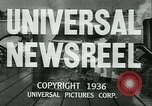 Image of Horse named Pompoon New York United States USA, 1936, second 22 stock footage video 65675022412