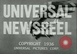 Image of Horse named Pompoon New York United States USA, 1936, second 25 stock footage video 65675022412