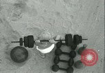 Image of Baby Larry Simms lifting weights Venice Beach Los Angeles California USA, 1936, second 45 stock footage video 65675022417