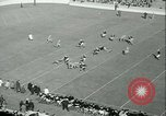 Image of Notre Dame versus Carnegie Tech football South Bend Indiana USA, 1936, second 16 stock footage video 65675022420
