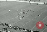 Image of Notre Dame versus Carnegie Tech football South Bend Indiana USA, 1936, second 17 stock footage video 65675022420
