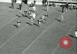 Image of Notre Dame versus Carnegie Tech football South Bend Indiana USA, 1936, second 32 stock footage video 65675022420