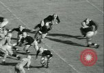 Image of Notre Dame versus Carnegie Tech football South Bend Indiana USA, 1936, second 36 stock footage video 65675022420