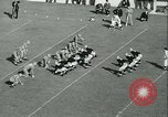 Image of Notre Dame versus Carnegie Tech football South Bend Indiana USA, 1936, second 48 stock footage video 65675022420