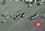 Image of Notre Dame versus Carnegie Tech football South Bend Indiana USA, 1936, second 49 stock footage video 65675022420