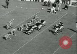 Image of Notre Dame versus Carnegie Tech football South Bend Indiana USA, 1936, second 50 stock footage video 65675022420
