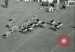 Image of Notre Dame versus Carnegie Tech football South Bend Indiana USA, 1936, second 53 stock footage video 65675022420