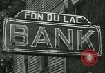 Image of FDIC pays depositors of failed Fon Du Lac Bank East Peoria Illinois USA, 1934, second 7 stock footage video 65675022427