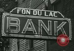 Image of FDIC pays depositors of failed Fon Du Lac Bank East Peoria Illinois USA, 1934, second 9 stock footage video 65675022427