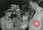 Image of FDIC pays depositors of failed Fon Du Lac Bank East Peoria Illinois USA, 1934, second 18 stock footage video 65675022427