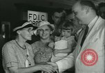 Image of FDIC pays depositors of failed Fon Du Lac Bank East Peoria Illinois USA, 1934, second 20 stock footage video 65675022427