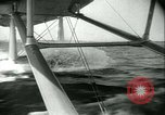 Image of Sikorsky S-42 Flying Boat test flight Bridgeport Connecticut USA, 1934, second 22 stock footage video 65675022428