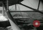 Image of Sikorsky S-42 Flying Boat test flight Bridgeport Connecticut USA, 1934, second 23 stock footage video 65675022428