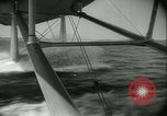 Image of Sikorsky S-42 Flying Boat test flight Bridgeport Connecticut USA, 1934, second 24 stock footage video 65675022428