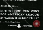 Image of Inaugural baseball All Star Game Chicago Illinois USA, 1933, second 1 stock footage video 65675022449